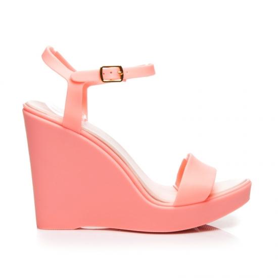 05a3f22f1d Ružové gumené sandále PT73