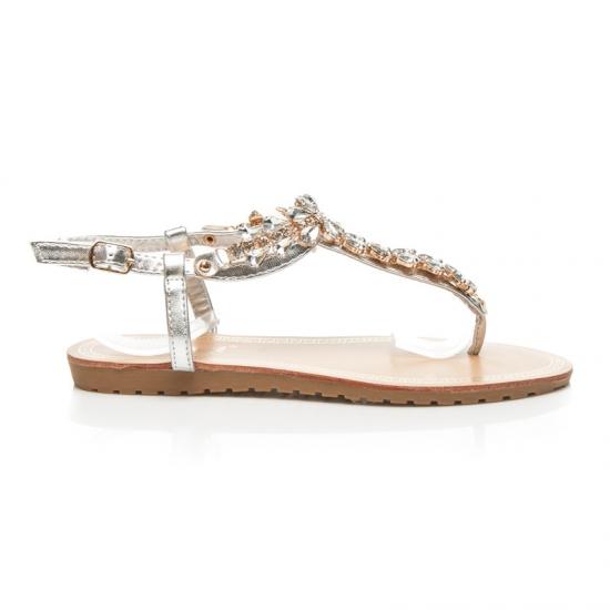 495bbaca72a7 Sandále s kamienkami 986S