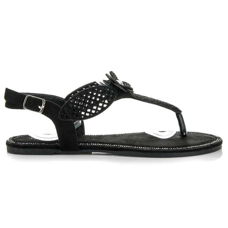 c068d5f1d9ec9 Čierne sandále Dorothy | Topankaren.sk