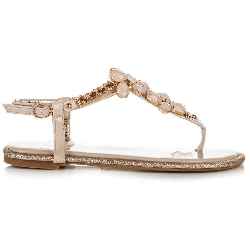 c6e69fa3cfaf Béžové sandále Rosa ...