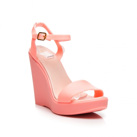 8f94591939 Ružové gumené sandále PT73 ...