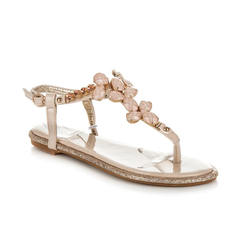 34c3ade5f1bf Béžové sandále Rosa Béžové sandále Rosa ...