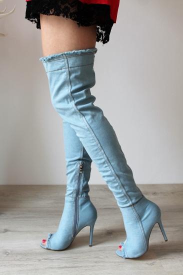 e09143e665 ... Riflové čižmy nad kolená Lora