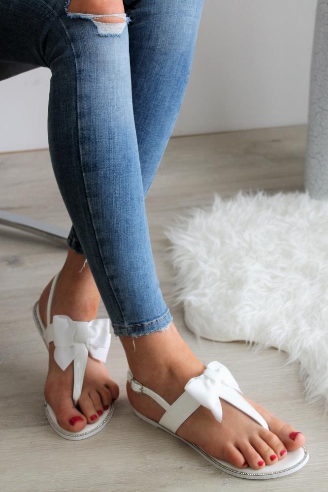 280909450cd45 Biele sandále Beata | Topankaren.sk