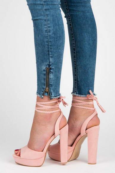 fca4cd1c3a93 Ružové sandále Melany