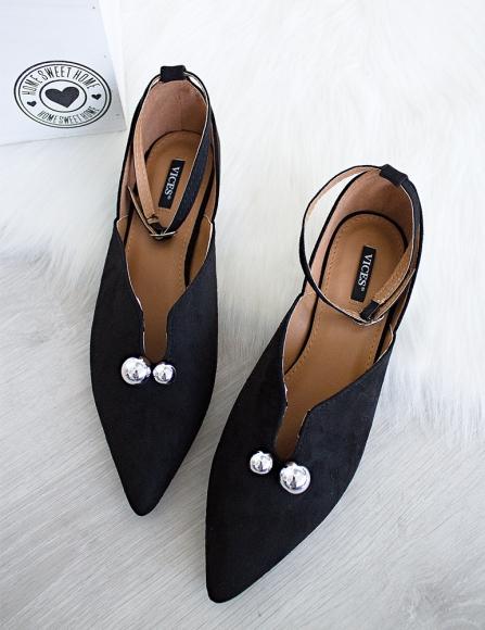 1ff0155bf6ea Čierne sandále Fancy