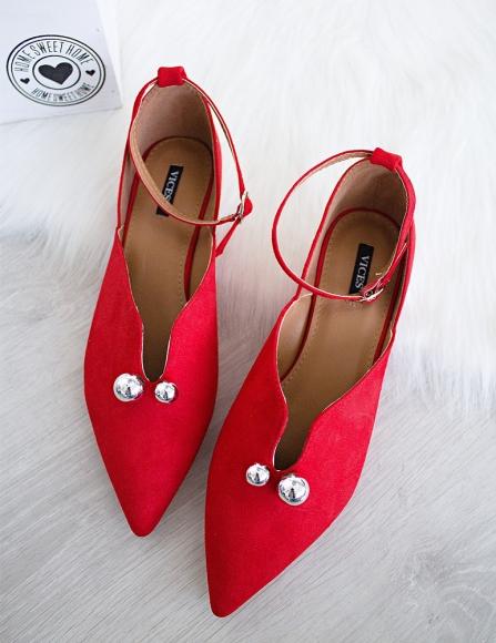 070b0746c2 Červené sandále Fancy