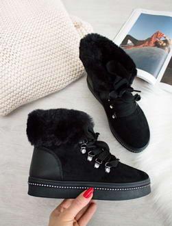 32950b5a6f Čierne topánky Nadine
