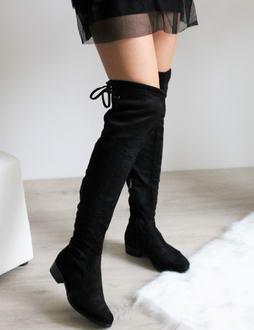 1bb4c4af01 Riflové čižmy nad kolená Lora