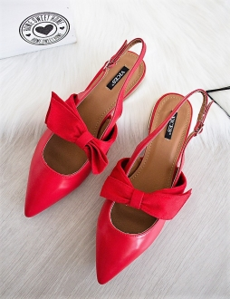 a5935d31503e Červené sandále Fortina
