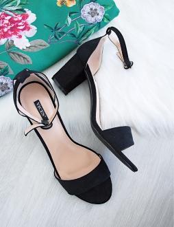 3802d80ba5 Čierne sandále Christina
